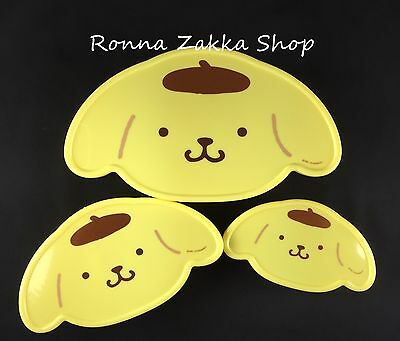 New Japan Licensed Sanrio Original Pompompurin purin dog Set of 3 lunch boxes