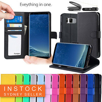New Wallet Leather Case Cover - Samsung Galaxy S7 Edge S6 Edge Plus & Note 5 7