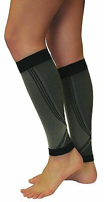 1Pair MEDICAL SPORTS COMPRESSION 18-21 mmHg CALF BRACE SUPPORT SLEEVES UNISEX