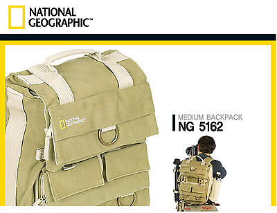 National Geographic Earth Explorer NG5162 DSLR Camera Bag Lens Bag Backpack