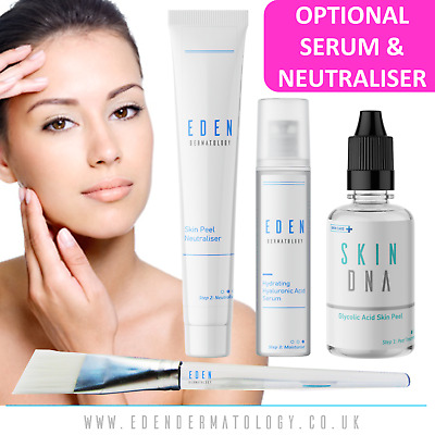 30% Professional Glycolic Acid Skin Peel + Optional Neutraliser & Serum |SDNA