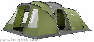 COLEMAN VESPUCCI 6 MAN TENT person camping family large spacious quick pitch