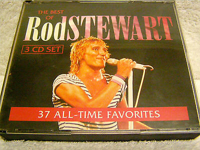 ROD STEWART     3 CD-Set    : 37 All-Time Favorites (rare - out of print)