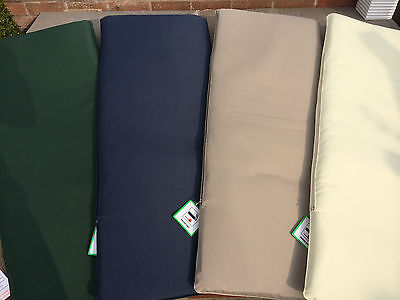 Garden Bench Cushion Pad Outdoor 2 Seater Bench Swing Seat Washable