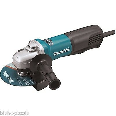"Makita 9566PC 6"" Angle Grinder Corded 13.0 Amp SJS High Powered Paddle Switch"