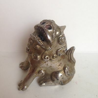 Vintage Brass Foo Dog Topper??