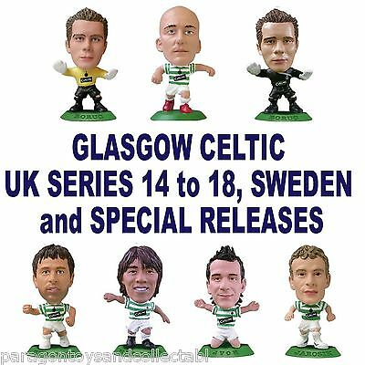 GLASGOW CELTIC MicroStars - UK Series 14, 15, 16, 17 & Specials Choice 12 figure