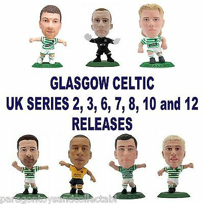 GLASGOW CELTIC MicroStars - UK Series 2, 3, 6, 7, 8, 10, 12 Choice of 14 figures