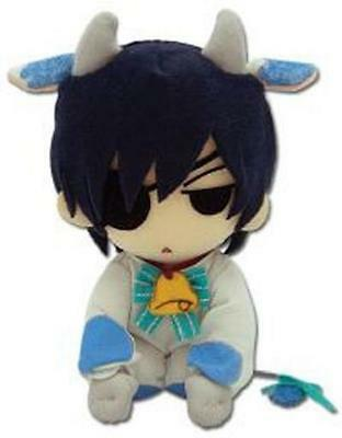 *NEW* Black Butler Ciel Cow Cosplay Plush by GE Animation