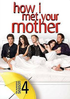 DVD / How I Met Your Mother: The Complete Season 4  /  Brand New