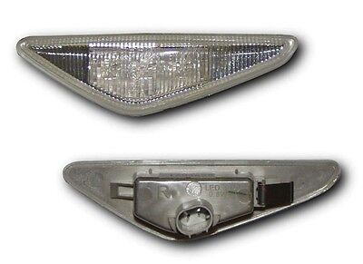 Bmw 3 Series E46 Coupe & Convertible 03-06 Led Side Repeaters - Clear Indicators