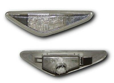 Bmw 3 Series E46 Coupe & Convertible 03-07 Side Repeaters - Clear Led Indicators