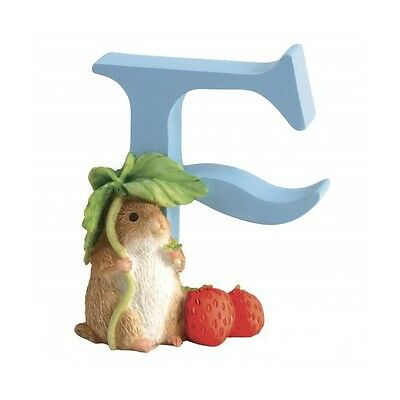"""BEATRIX POTTER Figurine - Alphabet Letter """"F"""" Timmy Willy- New in Box"""