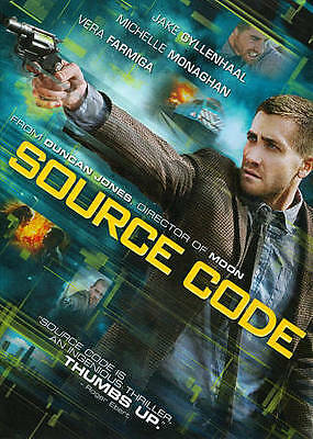 Source Code (DVD); Exciting Gylenhaal/Monaghan Action Flick!