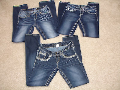 Maurices, Angela & Amethyst Jeans size 5 Juniors lot of 3