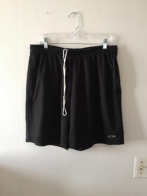 Mens C9 Champion Black Mesh Athletic Shorts Size Large 34-36 - 8 Inch Inseam