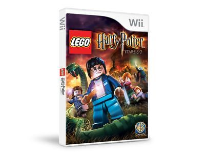 LEGO Harry Potter: Years 5-7 (Wii, 2011) COMPLETE -  GOOD