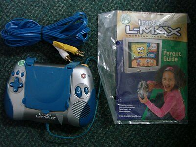 LeapFrog Leapster L-Max Blue Learning System