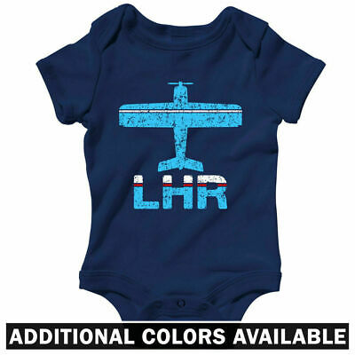 Fly London Heathrow LHR Airport One Piece - Baby Infant Creeper Romper NB to 24M