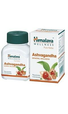 Ashvagandha Tablets | New Ashwagandha | Himalaya Pure Herbs | Choose Quantity