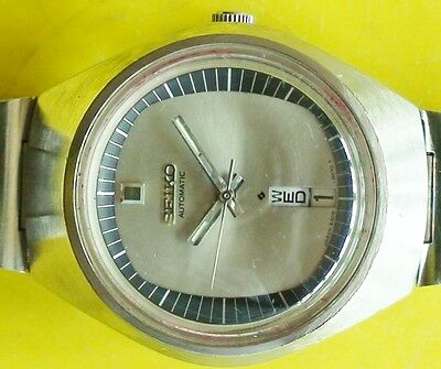 VINTAGE 1970'S SEIKO MENS 17 JEWELS AUTOMATIC JAPAN MADE WATCH GOOD CONDITION