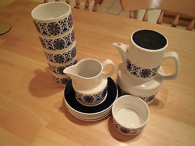 "Arklow Pottery ""Larne"" Coffee Collection"