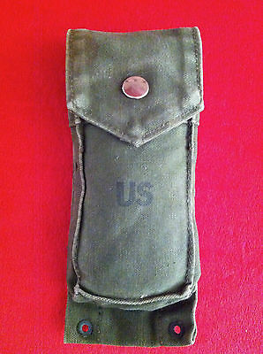 Original Vietnam US Army GI M14 Magazine Ammo Mag Pouch Issued OD Military Bag