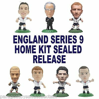 ENGLAND MicroStars - England Series 9 Home Kit (Sealed) - Choice of 24 Figures