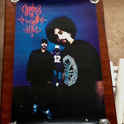 CYPRESS HILL-BLACK SUNDAY-RARE PROMOTIONAL POSTER-2 SIDED-HEAVY DUTY-1993!