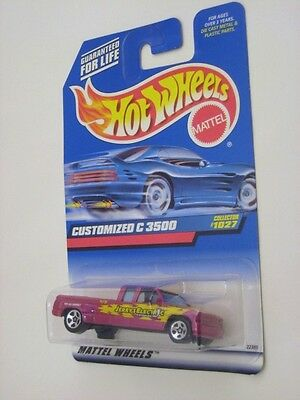HOT WHEELS CUSTOMIZED C 3500 - 1999 FIRST EDITIONS