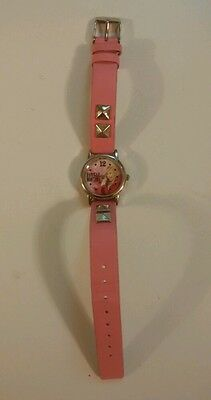 Hannah Montana officially licensed girl's watch, pink band, Miley Cyrus