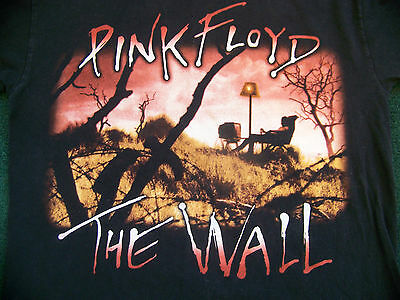 "Vintage Pink Floyd T Shirt Mens M "" The Wall "" 2 Sided"
