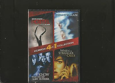 Hostel/Hollow Man/I Know What You Did Last Summer/When a Stranger Calls (DVD,...