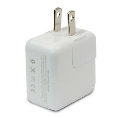 US Plug USB AC Wall Charger Power Adapter For iPad5 4 3 2 Mini iPhone 5S 6 Plus