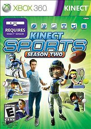 Kinect Sports: Season 2 for X-BOX 360 Video Game System NEW & SEALED