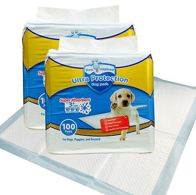 Paw Inspired 21 X 21 Dog Training Pads - 200 Count