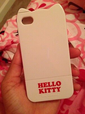Hello Kitty White Iphone 4 Case W Red Bow