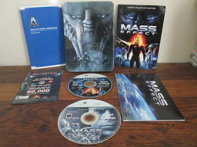 Mass Effect 1 Limited Collector's Edition DLC Xbox 360 for any PC Ps3 Ps4  fans