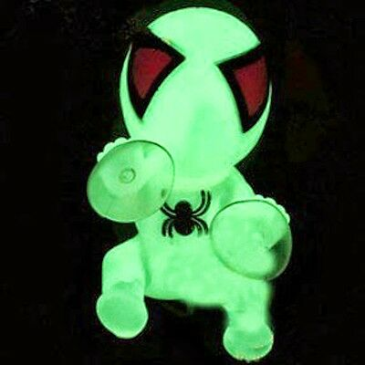 Noctilucent Auto Suction Cup Lovey Spider Man Car Home Dashboard Doll Decor Cool