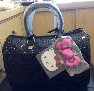 Special Order: LOUNGEFLY Hello Kitty Black Embossed City Bag