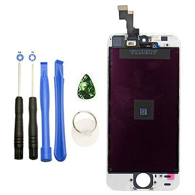OEM White LCD Display+Touch Screen Digitizer Assembly Replacement for iPhone 5S