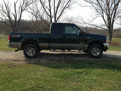 Ford : F-250 4 Door extended cad One Owner 2003 Ford SD F250 4X4 Super cab Lariat 6.0L V-8 Diesel Pickup Truck