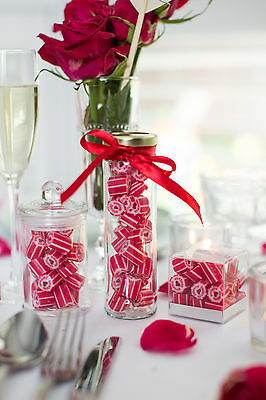Personalised Custom Rock Candy lollies  - Party Wedding Favours