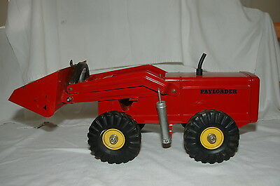 1952 NYLINT HOUGH PAYLOADER FRONT END LOADER INCLUDES A PAYLOADER WATCH FOB