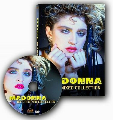 Madonna - 80's Remixed Collection (DVD Promo - Official Remixes)