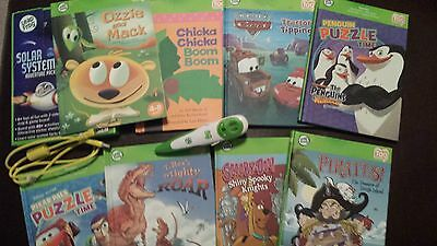Leapfrog Tag Pen and Nine Books