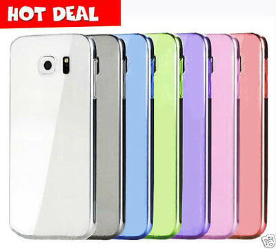 Galaxy S7 / S7 Edge S5 S6 Case, Ultra Slim Crystal Soft Gel Cover For Samsung