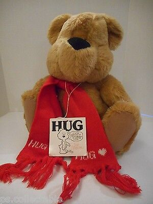 Ted Menton -North American Bear Co.- Teddy Bear AUTOGRAPHED!! (1983/1984) w/Tags