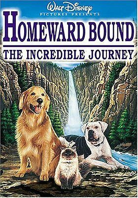 Homeward Bound: The Incredible Journey (DVD Used Very Good) CLR/CC/DSS/Keeper