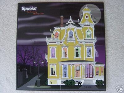 SPOOKS Haunted House Mystery Craft Board Game